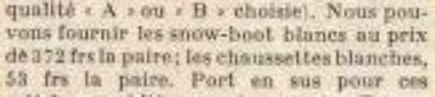 SNOW-BOOTS DE FRANCOISE