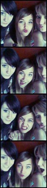 Elisa, Coralie & Gwen <3