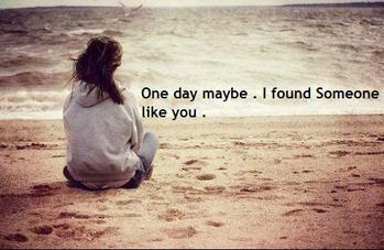 Quand on me parle d'amour c'est a toi que je pense ..♥