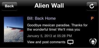 Application BTK - Bill : Retour à la maison.