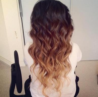 Topic: Coiffure - Le Dip Dye Hair/ ou Ombre Hair!