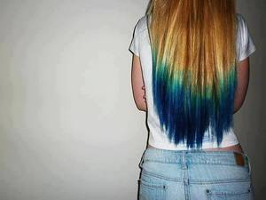 Le Dip Dye Hair, ou comment colorer la pointe de ses cheveux