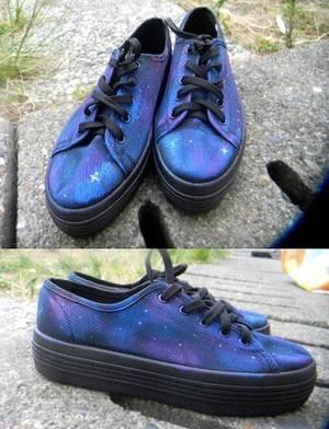 Des chaussures Galaxy