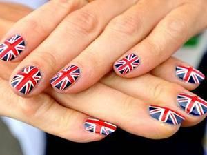 Nail Art Union Jack