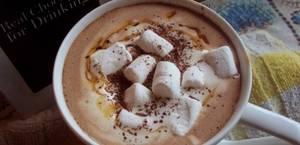 Chocolat chaud au caramel