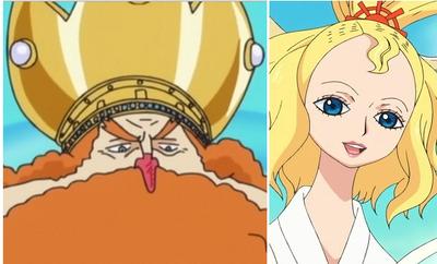 Commu-Manga Nefertari Vivi et Shirahoshi parti 2