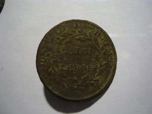 BOUTON DISTRICT DE REIMS-LA LOI-LE ROI      1790