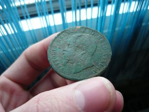10 centesimi italien 1866