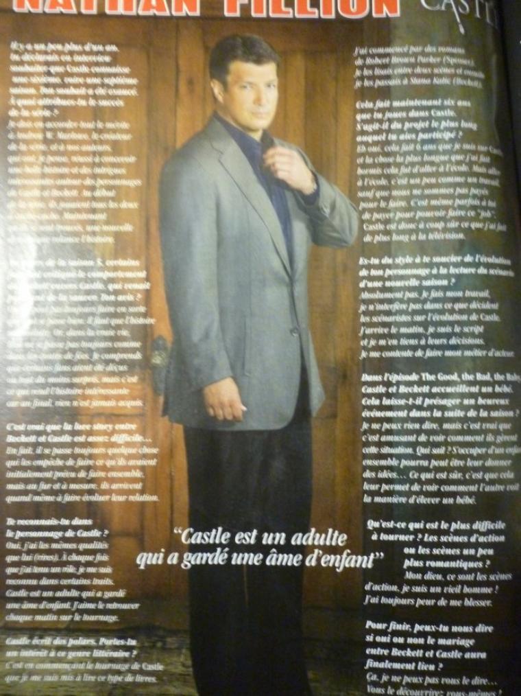 Article Série Mag Janvier-Février 1014 + mon retour tant attendu (ou pas)