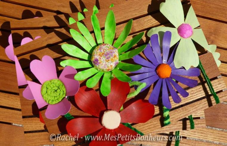 Fleurs En Plastique De Bouteille fleurs en bouteilles plastiques, rien ne se perd. - crochet, animaux