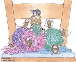 En mode tricot.