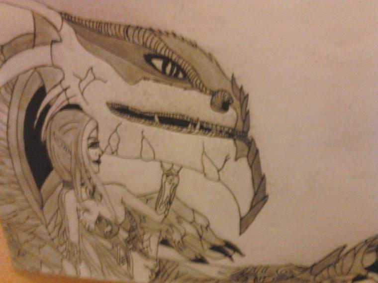 moi et mon dragon