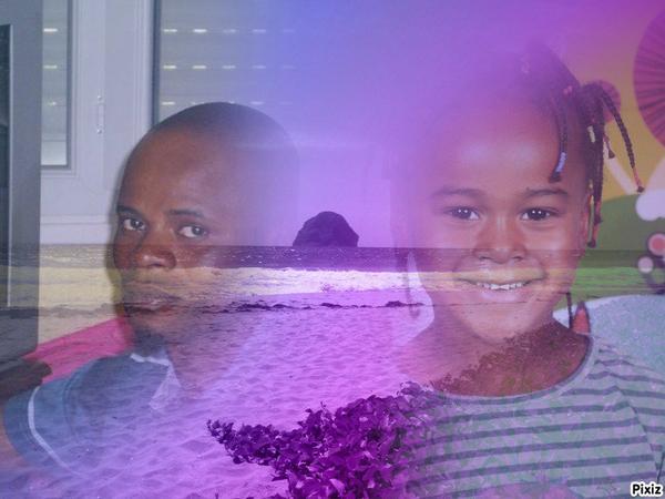 mon chéri et ma fille
