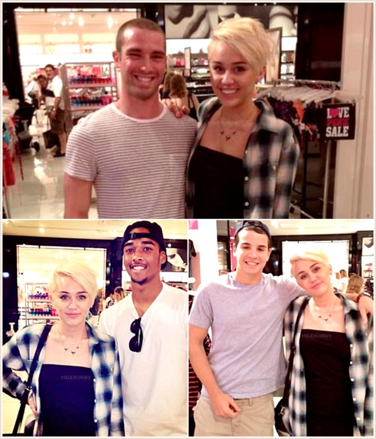 August 13th ; Miley et Liam ont été vus dans les rues de Philadelphie.