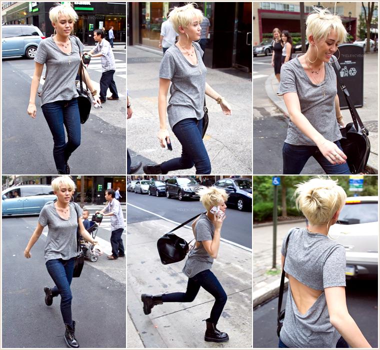 Une semaine avec Miley Cyrus...