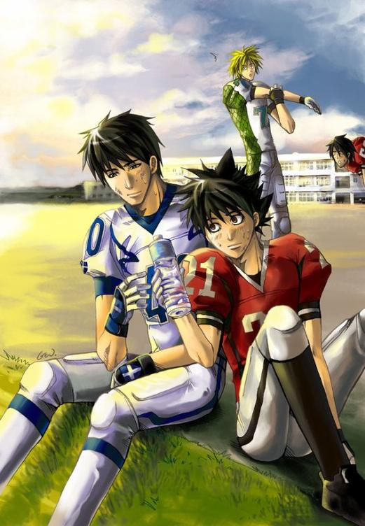 eyeshield 21 sena and shin