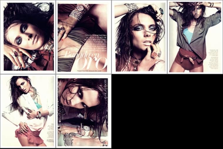 Malgosia Bela | Vogue Espagne Juillet 2011