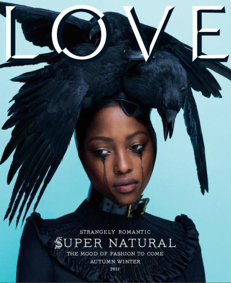 Nyasha Matonhodze | Love Magazine F/W 11.12