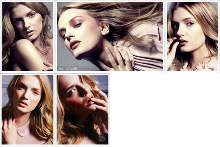 Lily Donaldson | Vogue Japon Beauty Août 2011