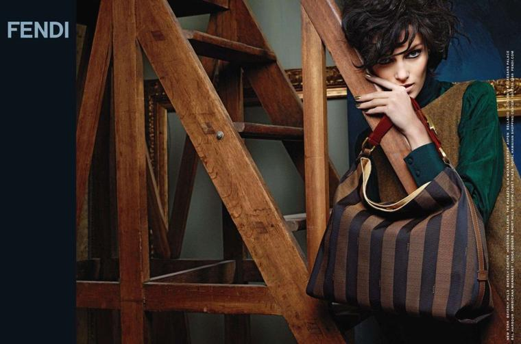 Anja Rubik | Fendi F/W 2011-2012