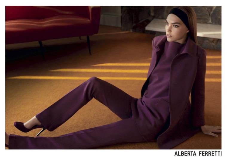 Arizona Muse | Alberta Ferretti F/W 2011 - 2012