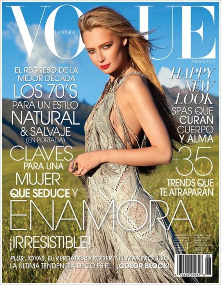 Tiiu Kuik | Vogue Amérique Latine Août 2011