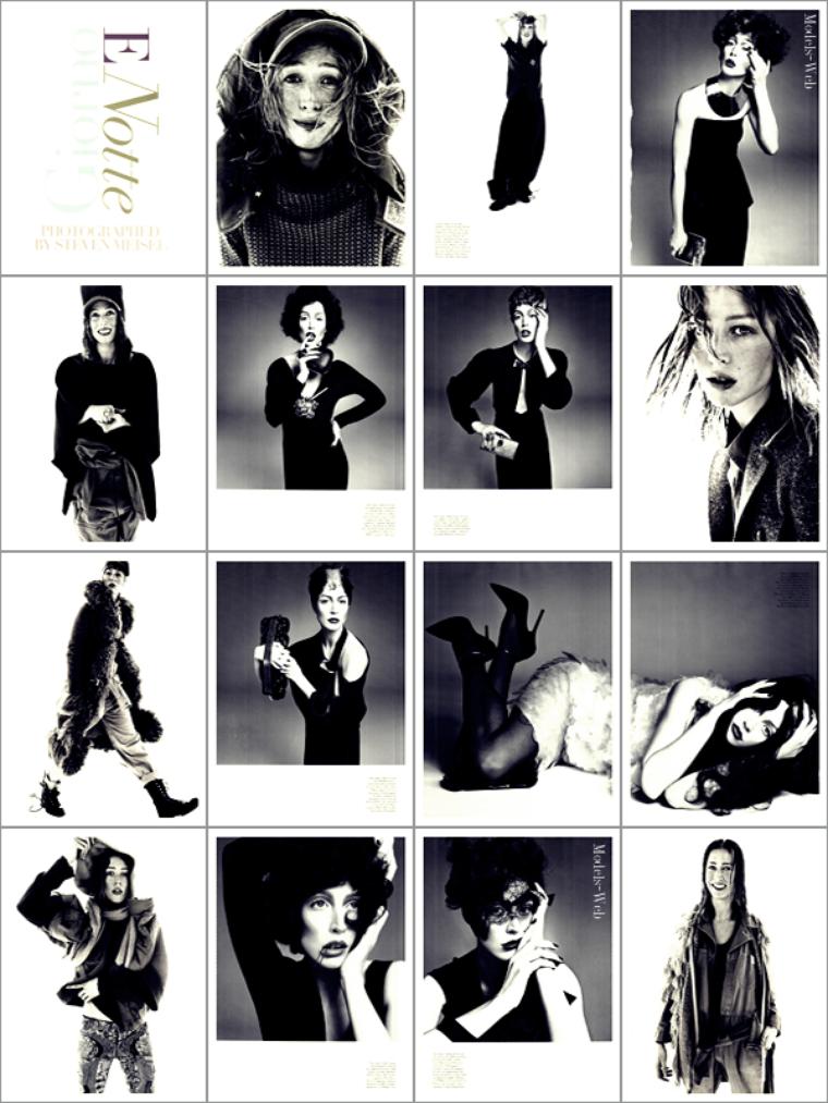 Raquel Zimmermann | Vogue Italie Août 2011