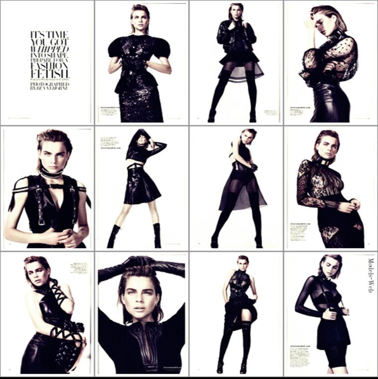 Karlie Kloss | Harper's Bazaar Australie Septembre 2011
