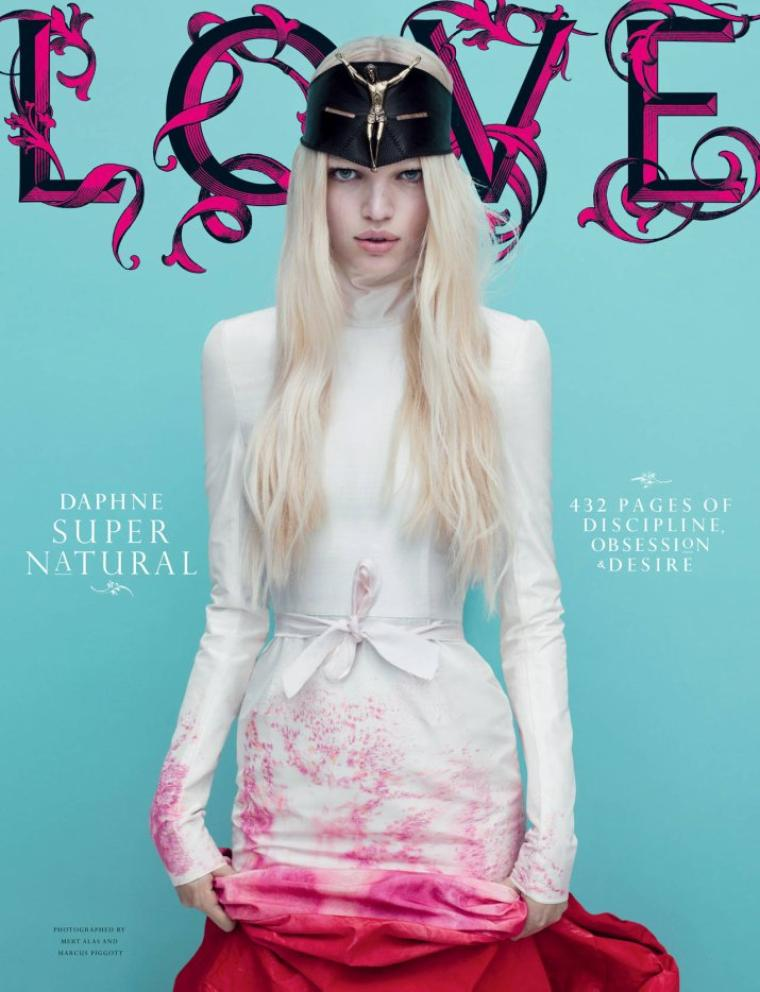 [Couvertures - Editoriaux] LOVE Magazine #6 F/W 11.12