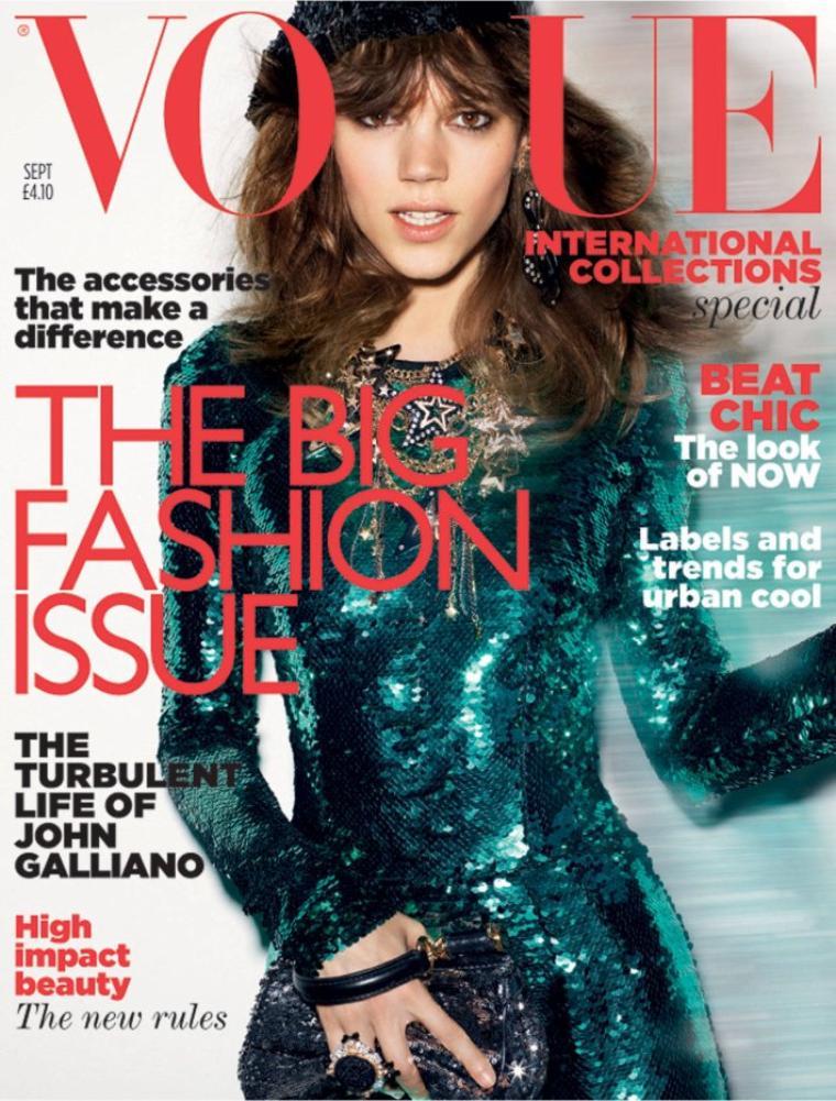 Freja Beha Erichsen | Vogue UK Septembre 2011