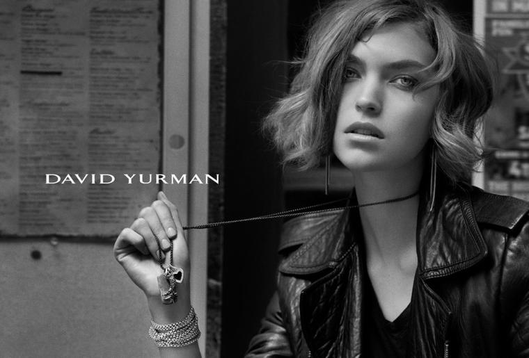 Joan Smalls & Arizona Muse | David Yurman F/W 2011 - 2012