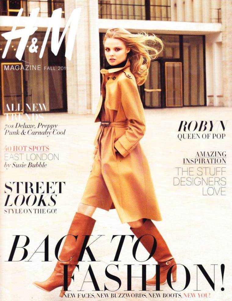 Magdalena Frackowiak | H&M Magazine Fall 2011[TFS : TREVOFASHIONISTO]