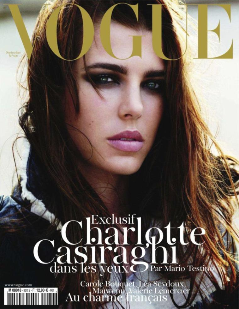 Charlotte Casiraghi | Vogue Paris Septembre 2011