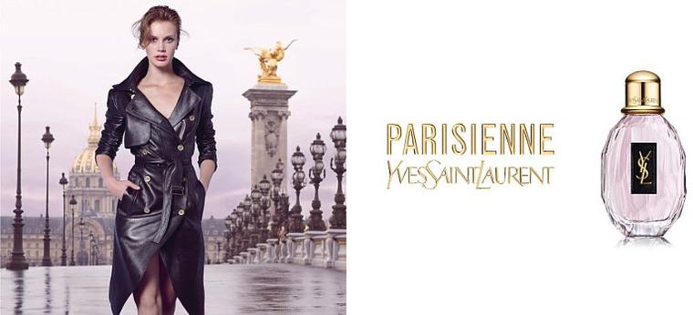 "Marine Vacth | YSL ""Parisienne"" Fragrance"