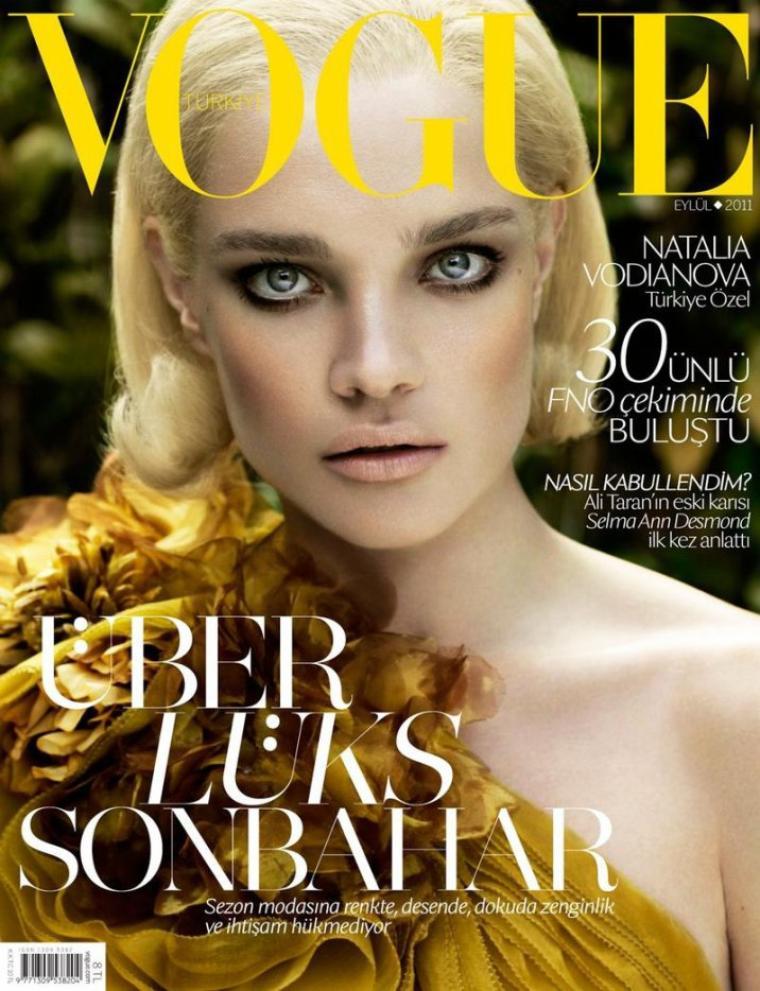 Natalia Vodianova | Vogue Turquie Septembre 2011