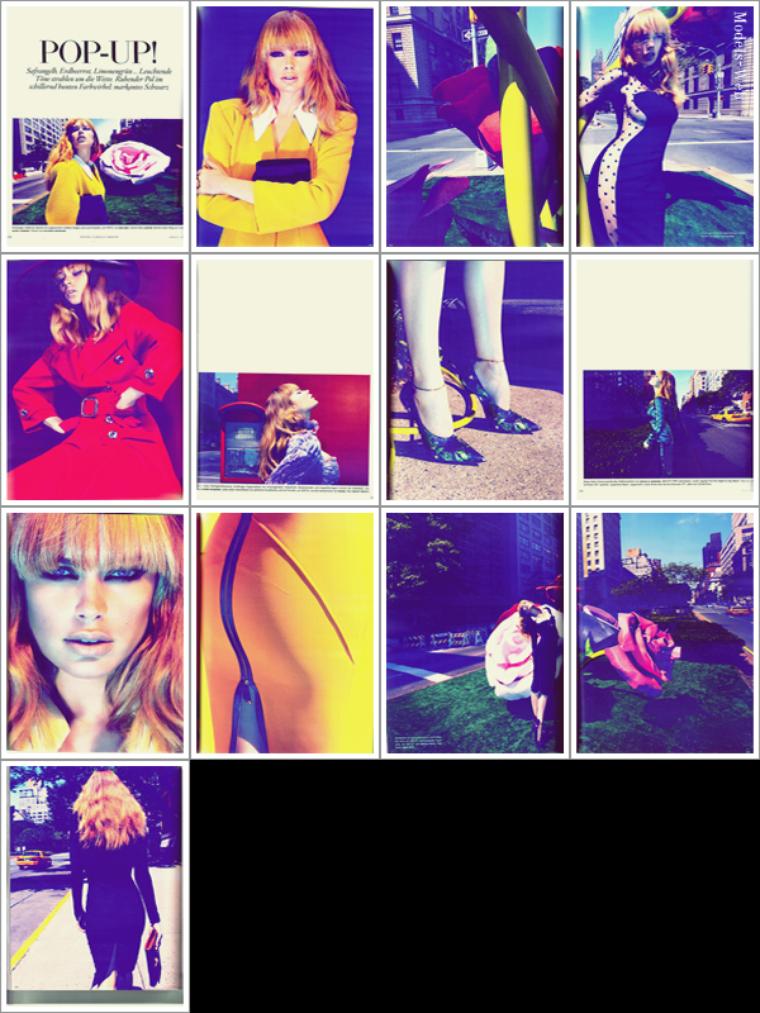 Doutzen Kroes | Vogue Allemagne Octobre 2011