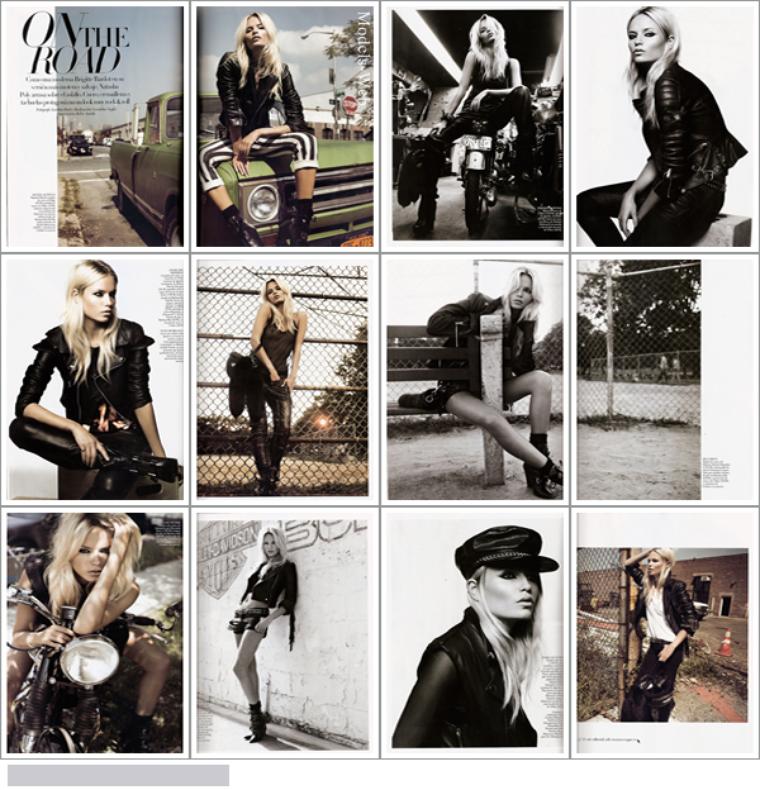 Natasha Poly pour le Vogue Espagne