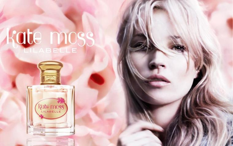 "Kate Moss ""Lilabelle Fragrance"""