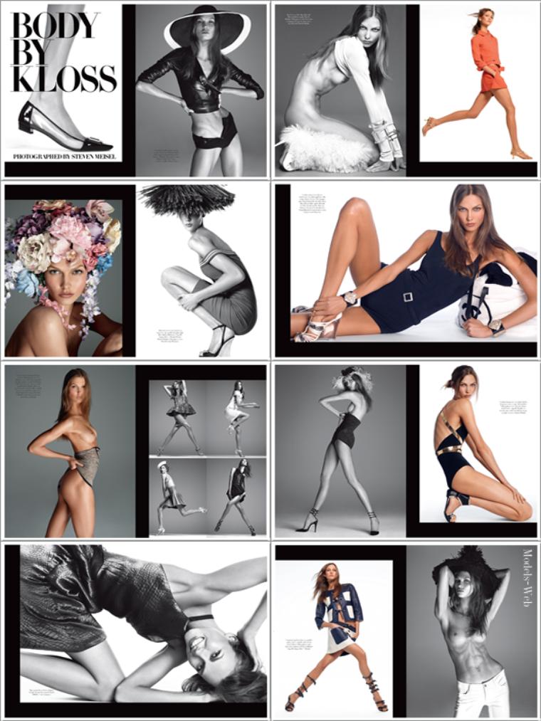 Vogue Italie Décembre 2011 | Karlie Kloss
