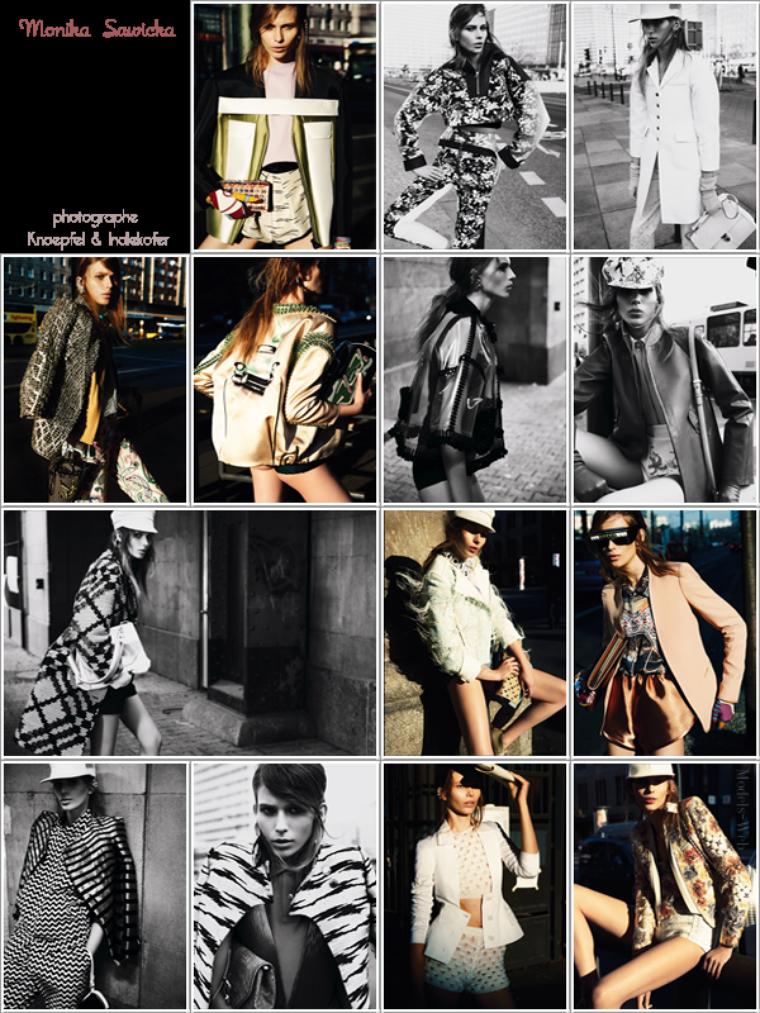 Vogue Allemagne Janvier 2012
