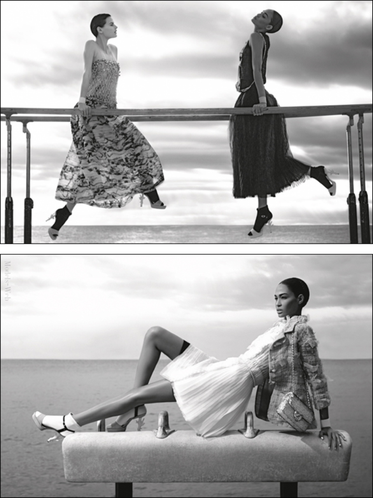 Chanel S/S 2012 : Joan Smalls & Saskia de Brauw