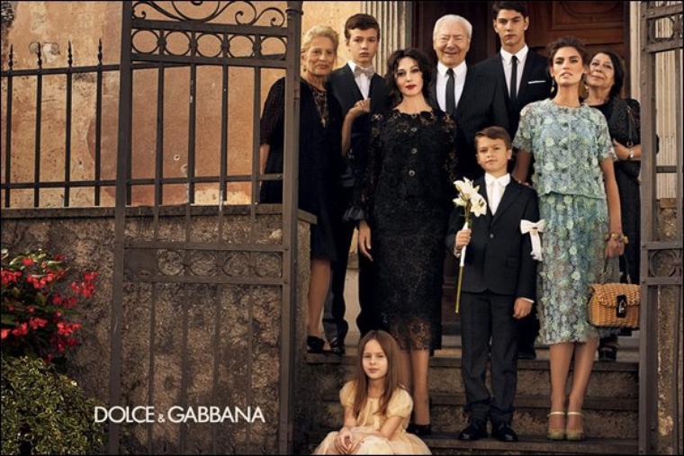 Monica Bellucci & Bianca Balti : Dolce & Gabbana