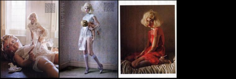 Vogue Italie Janvier 2012 | Daria Strokous & Caroline Trentini