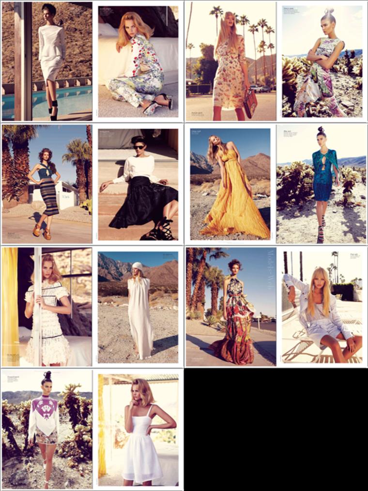 Vogue Australie Février 2012 | Marloes Horst