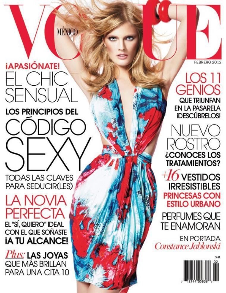 Vogue Mexico Février 2012