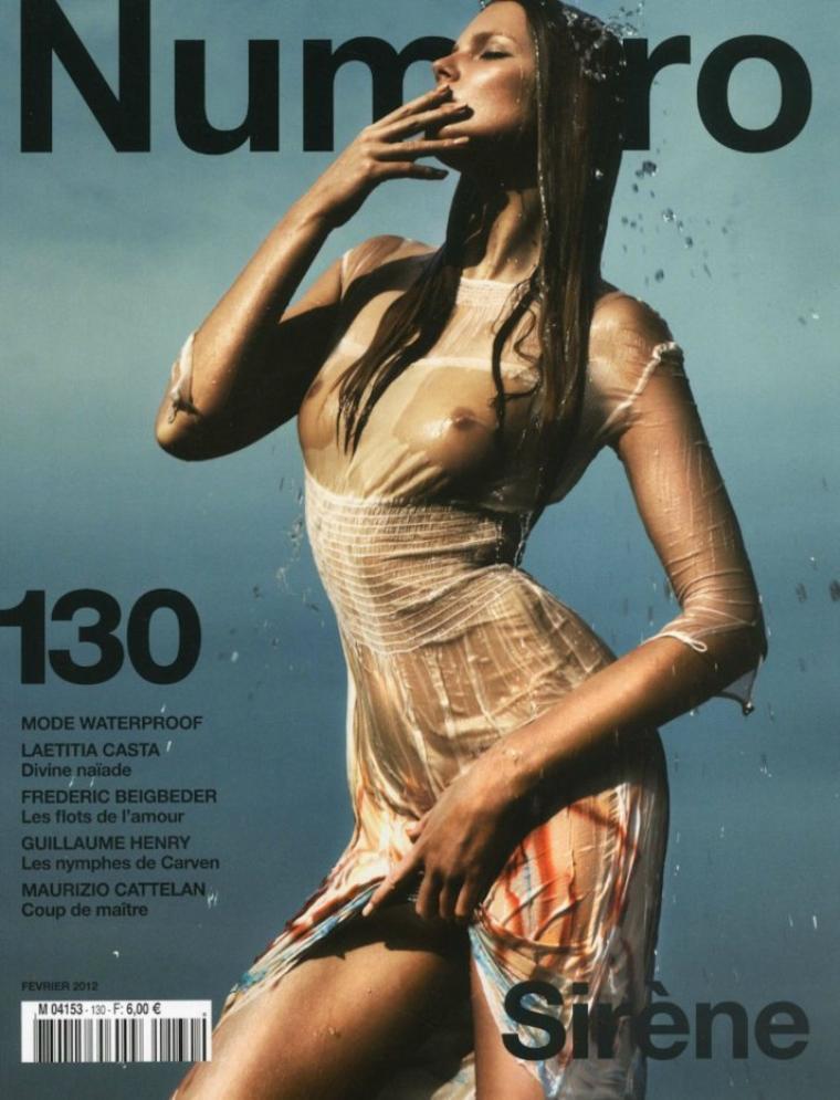 Numéro Février 2012 ; Eniko Mihalik
