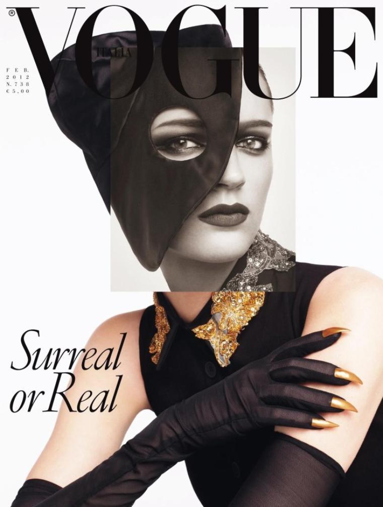 Vogue Italie Février 2012 : Laura Kampman