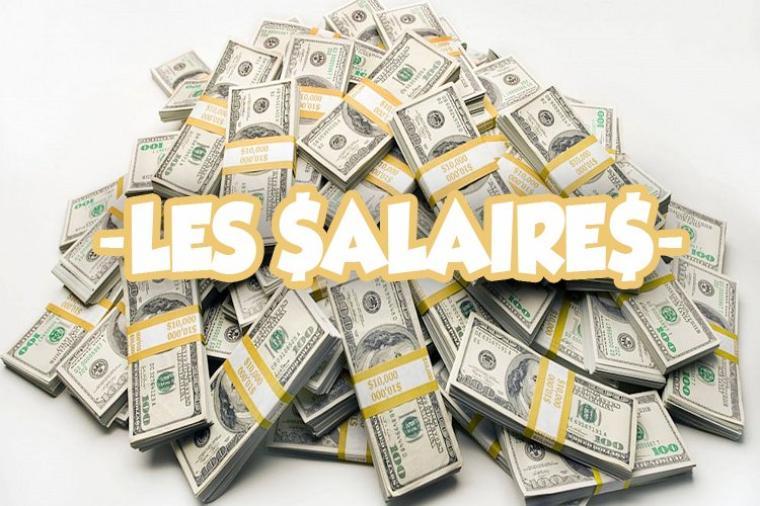 Les salaires