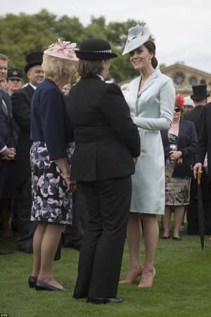 William & Catherine - Garden Party  Buckingham Palace, le 16 Mai 2017 _ Suite