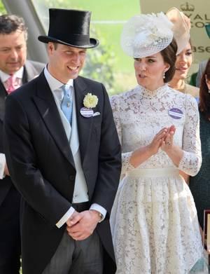 William & Catherine - Royal Ascot 2017, le 20 Juin 2017 _ Suite